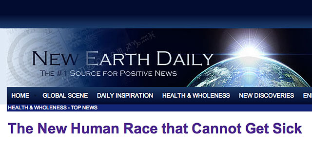The New Human Race that Cannot Get Sick